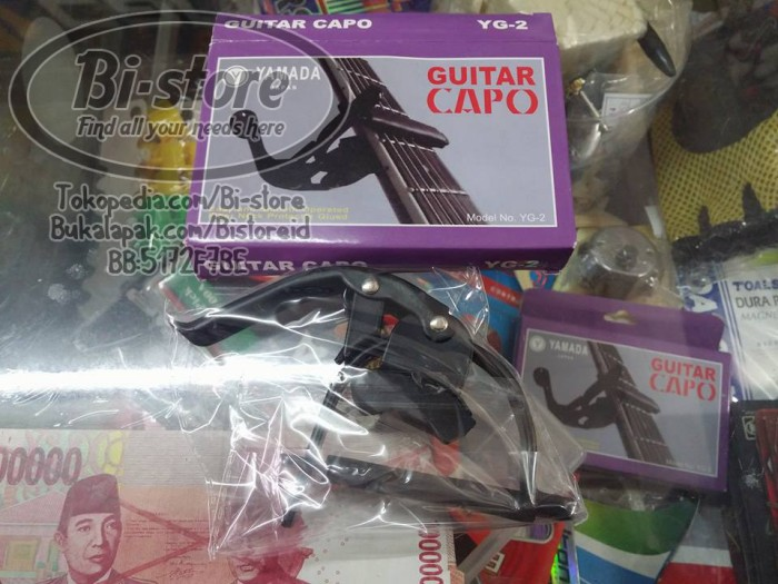 harga Capo gitar yamada yg-2 harga murah mantap akustik anti lecet neck Tokopedia.com