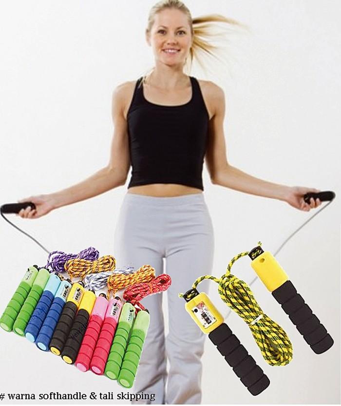 harga Lompat tali olahraga loncat skipping rope hop jump digital slim gym Tokopedia.com