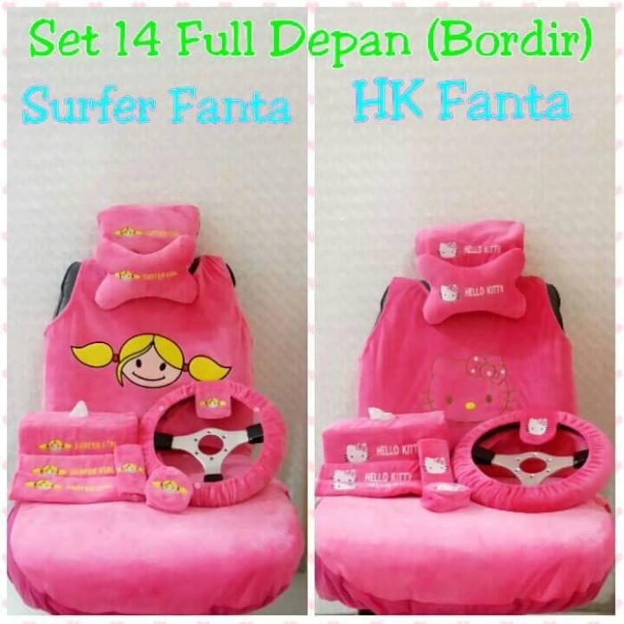 harga Sarung jok mobil 14 in 1 surfer girl fanta / hk fanta Tokopedia.com