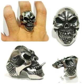 harga Skull ring murah cincin tengkorak grosir cincin titanium ring skull Tokopedia.com