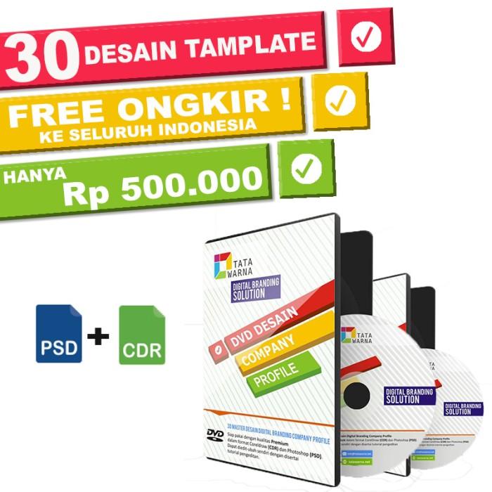 Jual Contoh Company Profile Perusahaan Jasa Ekspedisi Branding Agency Tokopedia