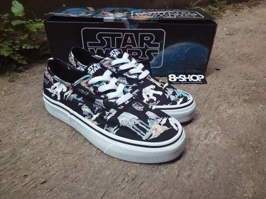 5a34f44885d072 Jual Sepatu Vans Authentic x Star Wars planet hoth - Kota Bandung ...
