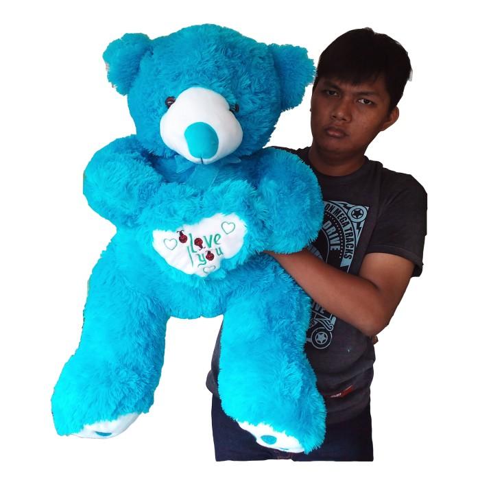 100+ Gambar Boneka Beruang Lucu Warna Biru