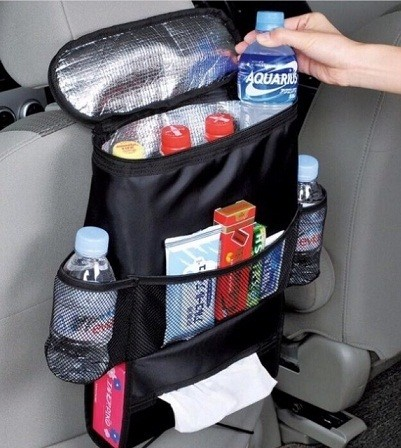Foto Produk Auto Seat Car Dining Tray Bag Organizer Gantungan Botol cemilan dari Toko Hoki Makmur