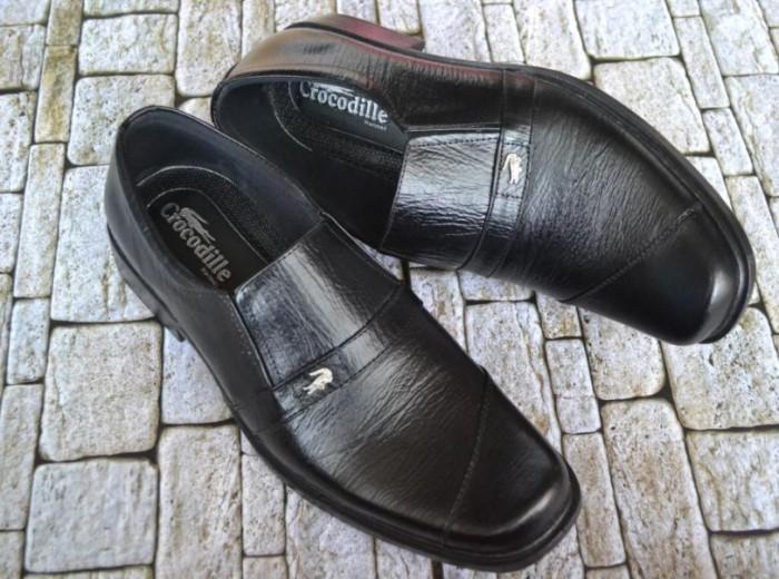 ... harga Sepatu pantofel kerja kantor pria formal crocodile kulit sapi  asli 002 Tokopedia.com 1ed6bca3a5