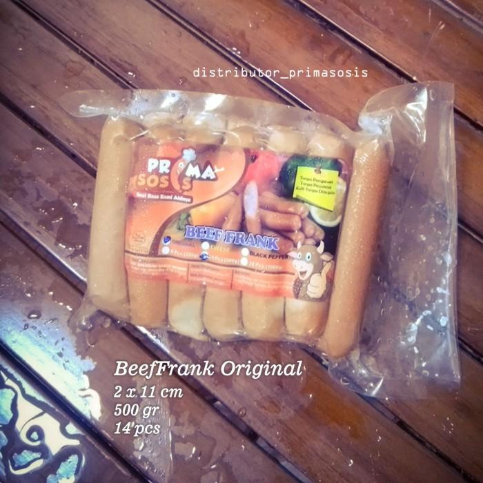 harga Prima sosis beeffrank original 14pcs Tokopedia.com