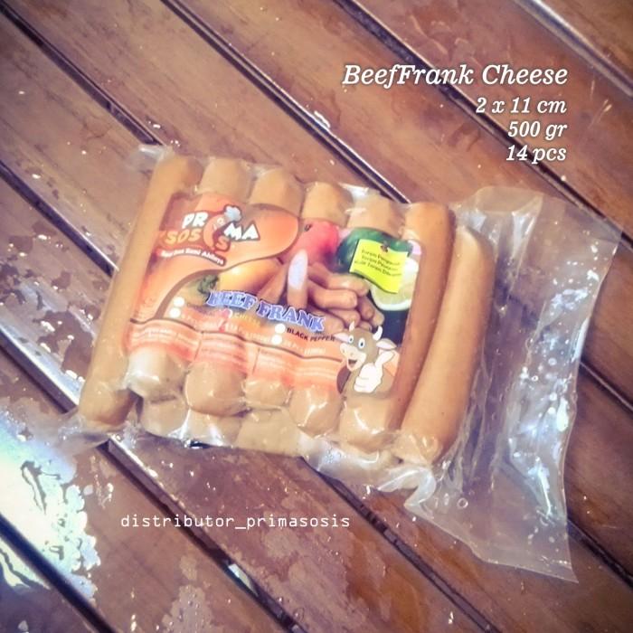 harga Prima sosis beeffrank cheese 14pcs Tokopedia.com