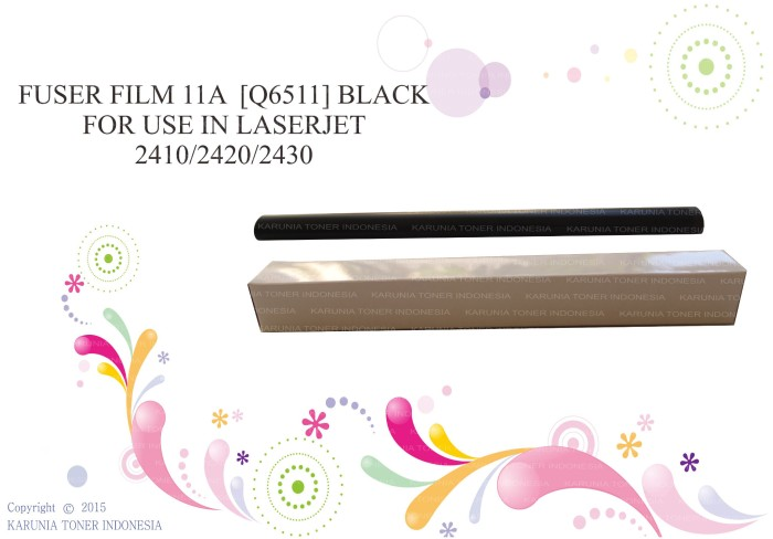 harga Fuser film 11a black for use in laserjet 2410/2420/2430 Tokopedia.com