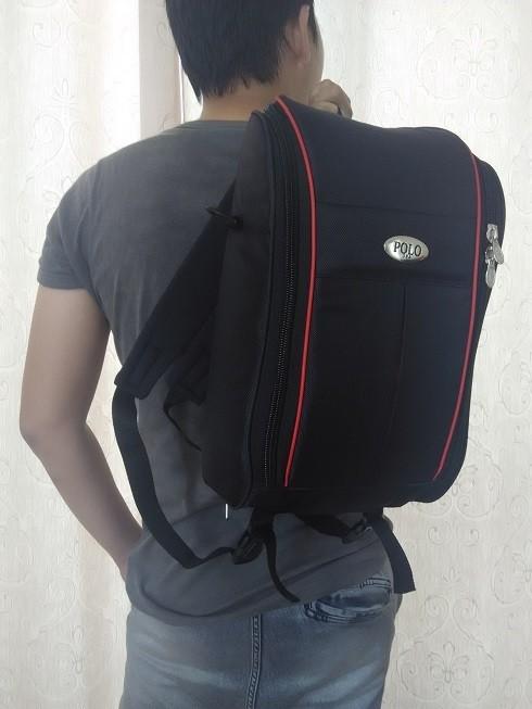 Tas polo / tas laptop bisa ransel ataupun selempang