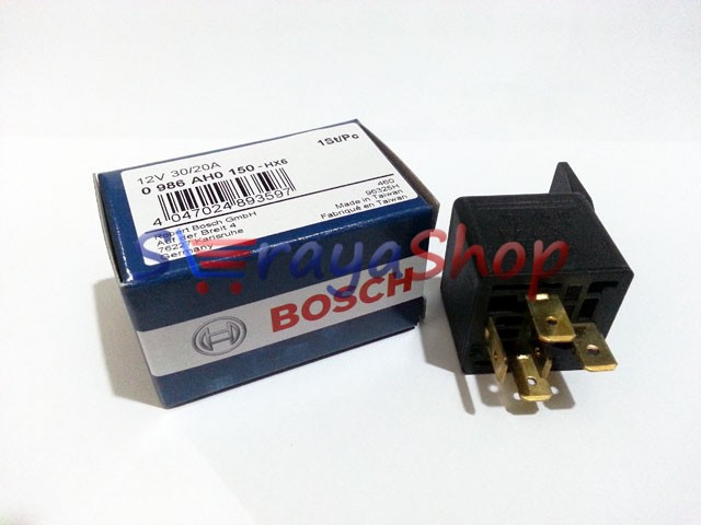 Foto Produk Relay 12V 5 Kaki 87a Bosch dari Seraya Shop