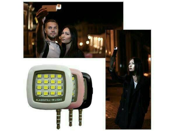 harga Lampu selfi headphone /flash&fill light/alat bantu camera Tokopedia.com