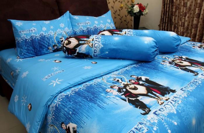 harga Bed cover chelsea gold + seprei 120x200cm frozen Tokopedia.com
