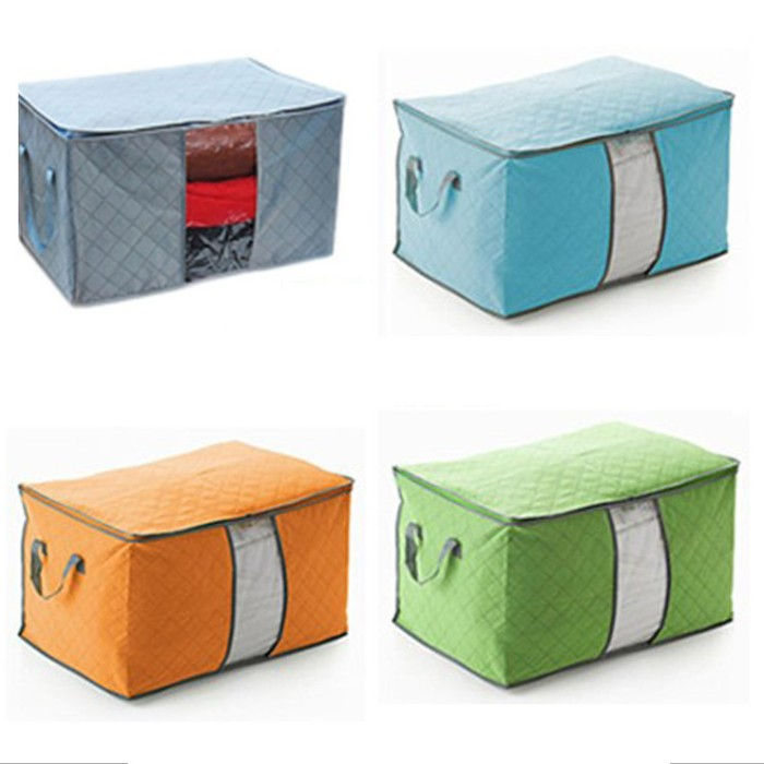 harga Foldab;e storage box warna / penyimpanan praktis pakaian  selimut dll Tokopedia.com