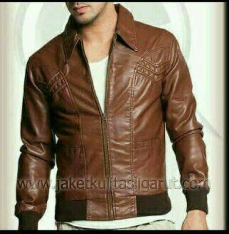 harga Jaket kulit pria blazer jacket semi imitasi sintetis Tokopedia.com