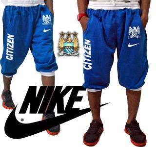 Celana jogger 3/4 nike citizen biru