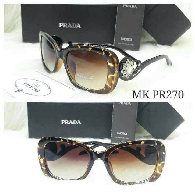 Jual kacamata prada-kacamata fashion-kacamata cewek prada-prada new ... cc62005edd