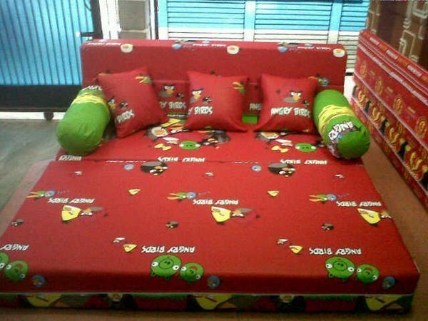 harga Sofa bed inoac original dan murah 200x180x20 Tokopedia.com