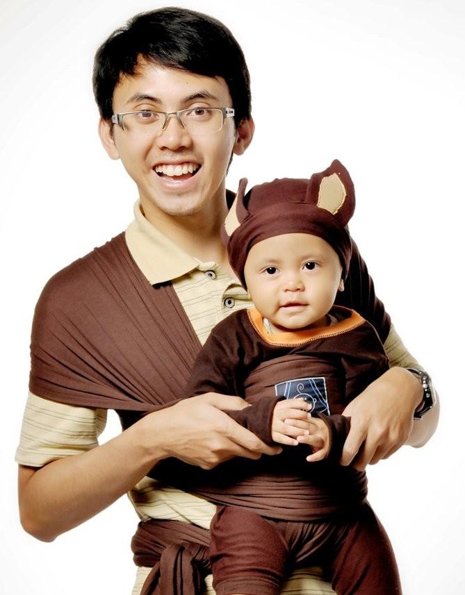 Jual Hanaroo Baby Wrap Babywrap Gendongan Bayi Modern Model