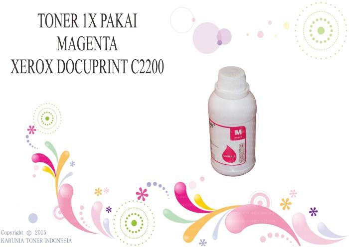 harga Toner 1x pakai fuji xerox docuprint c2200 magenta Tokopedia.com