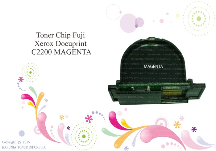 harga Chip fuji xerox docuprint c2200 magenta Tokopedia.com