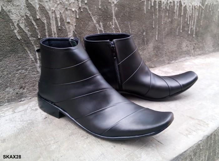 Jual Sepatu Kerja Kantor Pria Formal Kulit Asli Semi Boot Alexander ... fbfa9f55a4