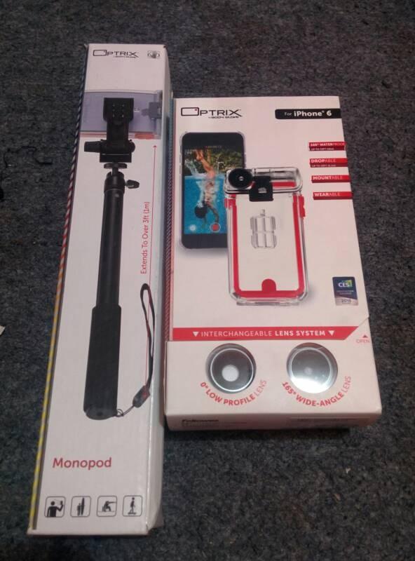 harga Optrix by bodyglove iphone 6/ 6s underwater case & action cam Tokopedia.com