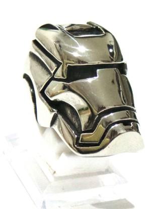 Skull ring titanium skull ring murah cincin ironman cincin tengkorak