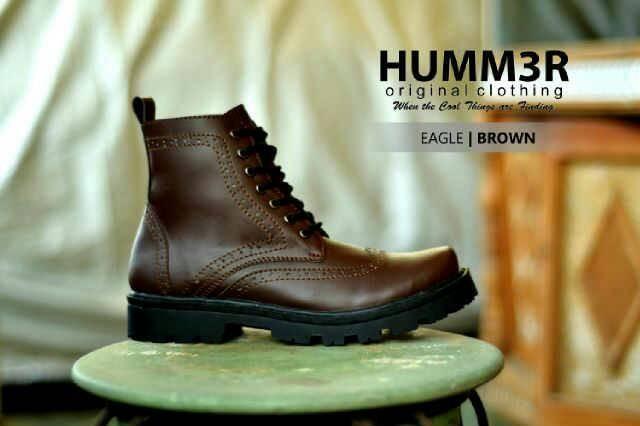 ... harga Sepatu original adventure tracking hiking outdoor boot pria hummer  Tokopedia.com 3f495cc203
