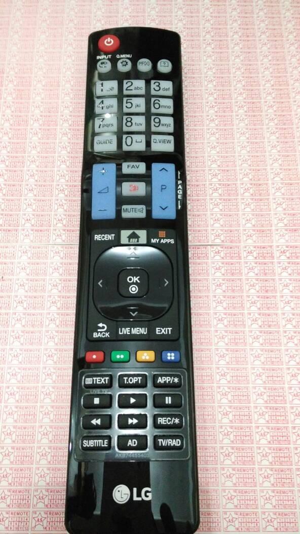Remote lg tv 3d orisinil akb74455403