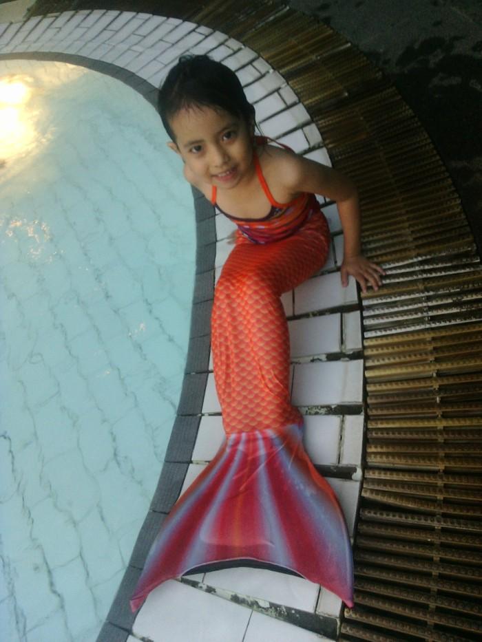harga Mermaid tail swimable putri duyung sisik polos size s Tokopedia.com