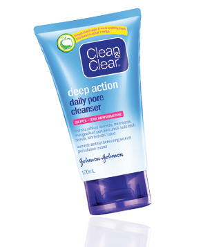 harga Clean & clear deep action daily pore cleanser 100ml Tokopedia.com