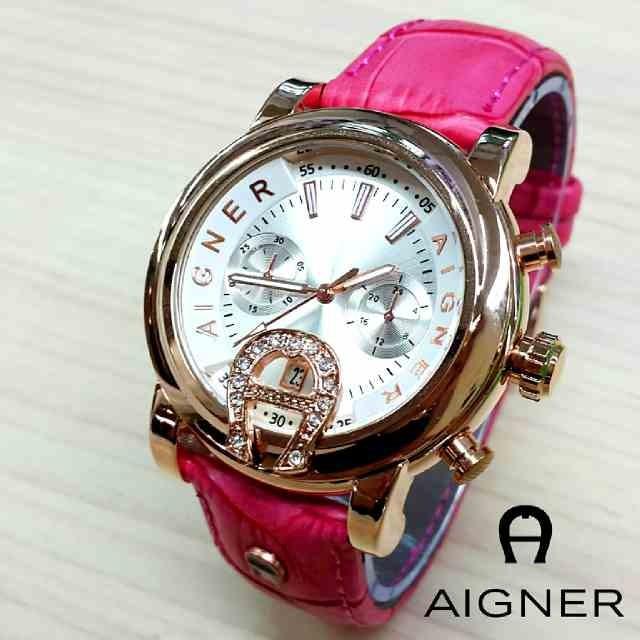 harga Agnl02pkwg jam tangan wanita aigner bari donna kulit pink ring gold Tokopedia.com
