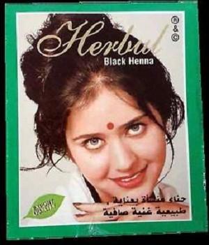 Jual Cat Rambut Henna Herbul Hitam Famfam Tokopedia