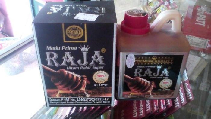 harga Madu prima raja hitam pahit super ukuran 500 gram kemasan jiregen Tokopedia.com