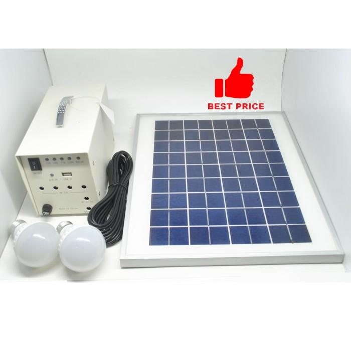 harga Solar panel monocrystalline 10w / 18v with dc connector Tokopedia.com