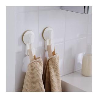 Ikea stugvik pengait / gantungan dengan plastik hisap - putih