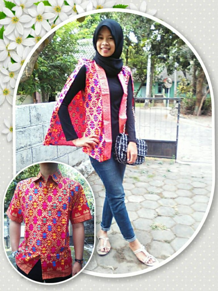 harga Sarimbit/batik couple/songket/bali/bolero/blazer/blazer cape/jogja Tokopedia.com