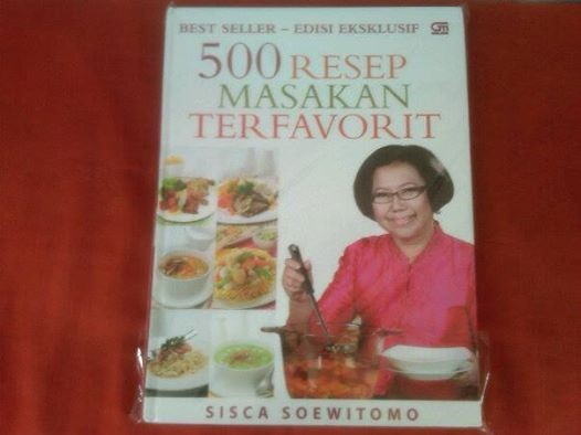 harga 500 resep terfavorit sisca soewitomo (hard cover) Tokopedia.com