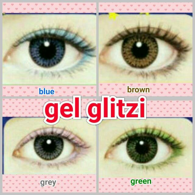 harga Softlens Gel Glitzi / Soft Lens Gel Glitzy Dia 15.mm Air 55% Korea Tokopedia.com