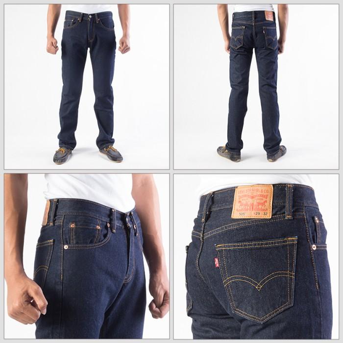[100% original levis 505-0216] celana jeans pria / bawahan pria