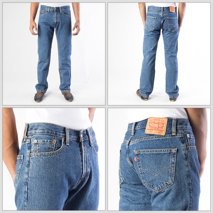 [100% original levis 505-4891] celana jeans pria / bawahan pria