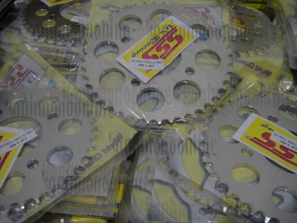 harga Gear sss (belakang) 428:megapro,nmp,cb150r,cbr150,tiger:size 41-45t Tokopedia.com