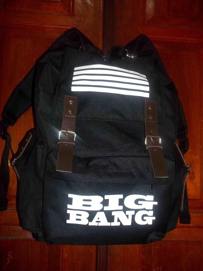 Back pack/tas/k pop/bigbang/bigbang made
