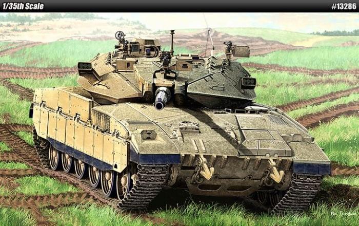 harga Model kit / mokit academy - tank merkava mk.ii d ( langka! ) Tokopedia.com