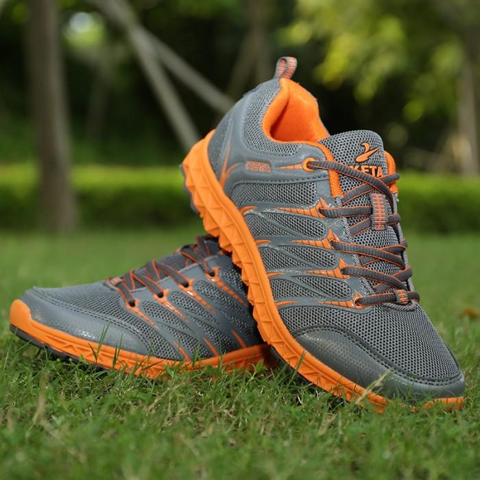 harga Sepatu running/jogging/olahraga wanita keta 654 grey/orange Tokopedia.com