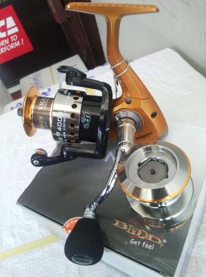 harga Rel blood trinos 4000 double spool 11 bearing Tokopedia.com