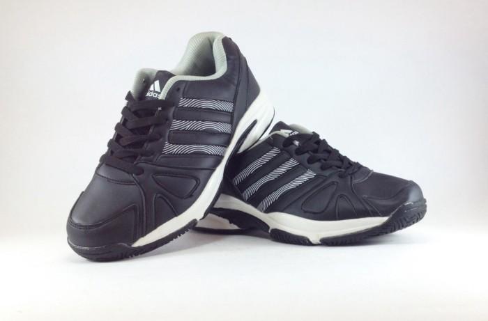 Sepatu Running Adidas Tennis Black