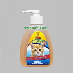 harga Shampoo untuk kesehatan kulit kucing medicated cat shampoo Tokopedia.com