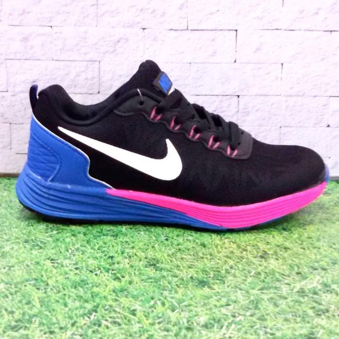 reputable site 9b4a5 af66a ... wholesale sepatu nike lunarglide 6 women black pink blue 3188f 5af95 ...
