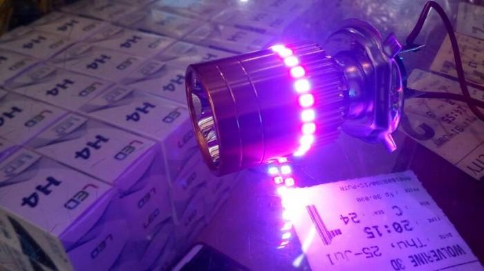 harga Lampu led h4 motor sport honda yamaha ae vixion cbr headlamp corong Tokopedia.com